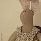 Куклы Тильды ручной работы. Заказать Зайка Сеня. Evgenia Nikolaeva (Malinka). Ярмарка Мастеров. Игрушка тильда, подарок, зайка