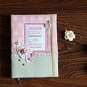 Канцелярские товары handmade. Livemaster - original item A Notepad for mom. Handmade.