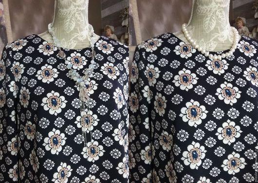 Платья ручной работы. Ярмарка Мастеров - ручная работа. Купить Платье Sapphire radiance. Handmade. Тёмно-синий, короткое платье
