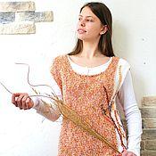 Одежда handmade. Livemaster - original item Top vest Herbs. Handmade.