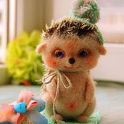 Куклы и игрушки ручной работы. Ярмарка Мастеров - ручная работа Ежик, 16см. Handmade.