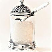 Свадебный салон handmade. Livemaster - original item Set spice EMPIRE (salt shaker+spoon for spices+cover). Handmade.