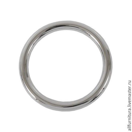 Шитье ручной работы. Ярмарка Мастеров - ручная работа. Купить Кольцо литое 1478 никель 50 мм. Handmade.