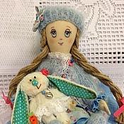 """Куклы и игрушки ручной работы. Ярмарка Мастеров - ручная работа Полинка( куколка из серии"""" Детство""""). Handmade."""