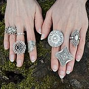 Украшения handmade. Livemaster - original item Rings silvered Boho original. Handmade.