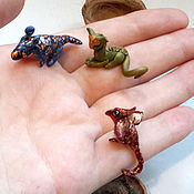 Куклы и игрушки handmade. Livemaster - original item Tiny grass dragons. Handmade.