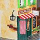 Кукольный дом ручной работы. Boulangerie (французская булочная). Катюшка мастерица. Интернет-магазин Ярмарка Мастеров. Франция, магазин, шпагат