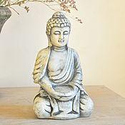 Для дома и интерьера handmade. Livemaster - original item Buddha sculpture for home and garden in concrete. Handmade.