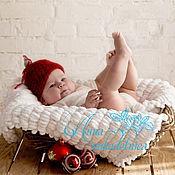 """Работы для детей, ручной работы. Ярмарка Мастеров - ручная работа Шапка для фотосесии """"Елочный шарик"""". Handmade."""