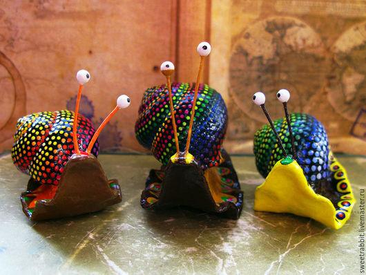 """Статуэтки ручной работы. Ярмарка Мастеров - ручная работа. Купить Мексиканские улитки """"Алебрихе"""". Handmade. Мексика, хеллоуин, мексиканские мотивы"""