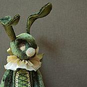Куклы и игрушки ручной работы. Ярмарка Мастеров - ручная работа Плюшевые зайцы. Handmade.
