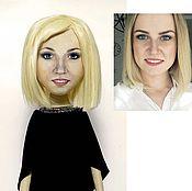 Куклы и игрушки ручной работы. Ярмарка Мастеров - ручная работа Портретная кукла, девушка.. Handmade.