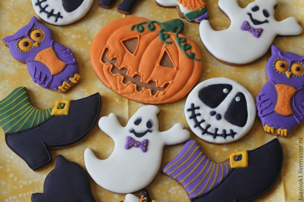 Пряники на хэллоуин своими руками 100