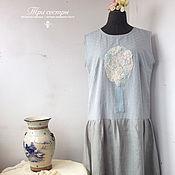 """Одежда ручной работы. Ярмарка Мастеров - ручная работа Платье """"Вальс цветов"""". Handmade."""