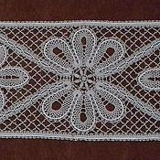 Для дома и интерьера handmade. Livemaster - original item Rectangular lace track. Handmade.