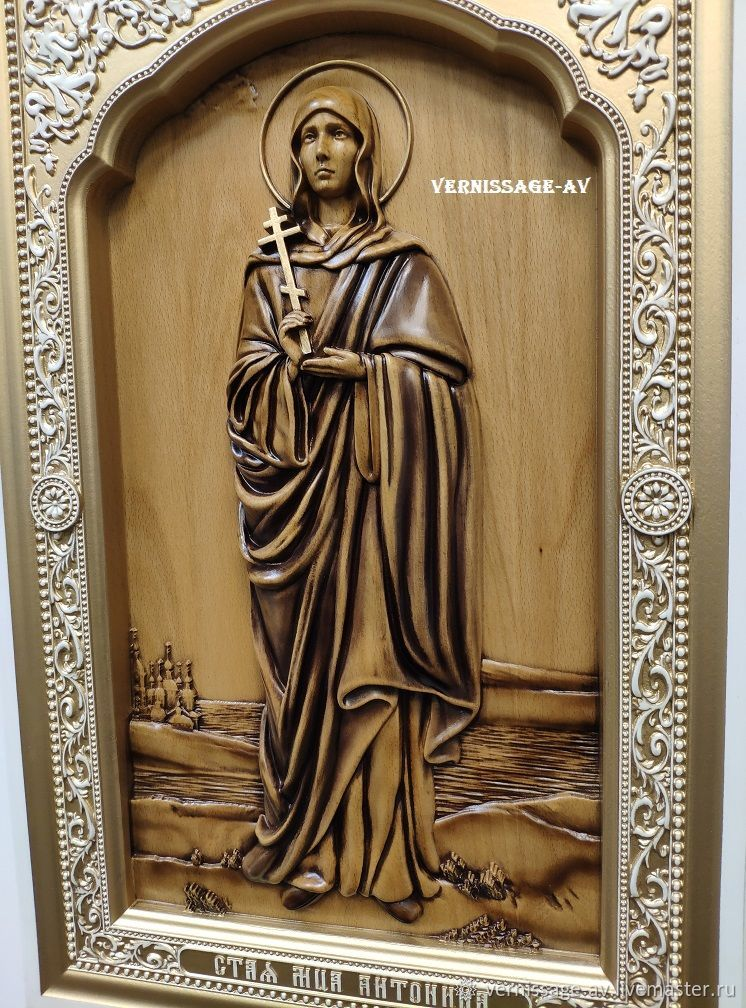 Икона Антонина Никейская, Иконы, Санкт-Петербург,  Фото №1