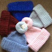 Аксессуары handmade. Livemaster - original item hat mohair lapel. Handmade.