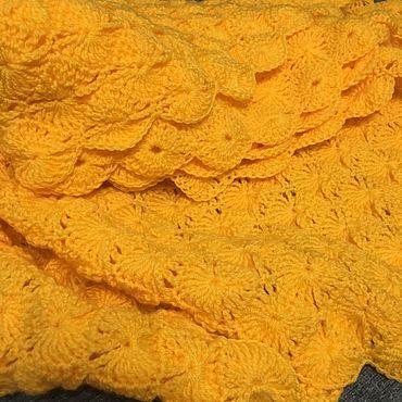 Текстиль ручной работы. Ярмарка Мастеров - ручная работа Пледы: Для детей. Handmade.
