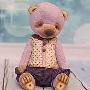 Куклы и игрушки ручной работы. Ярмарка Мастеров - ручная работа Мишка-тедди Бернар. Handmade.