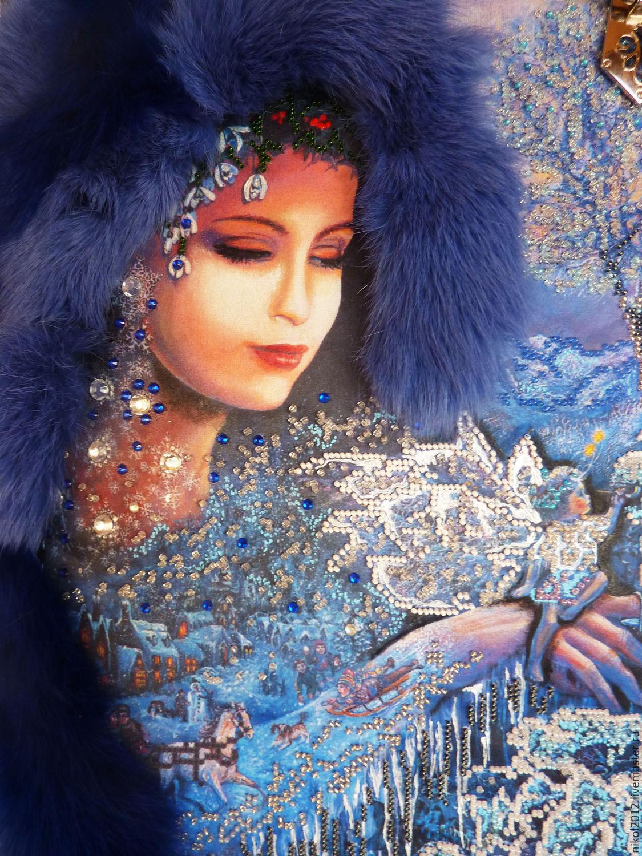 картинка зима волшебница