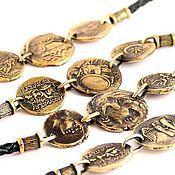 Украшения ручной работы. Ярмарка Мастеров - ручная работа Браслет с монетами. Handmade.