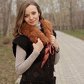 Одежда handmade. Livemaster - original item Milled vest