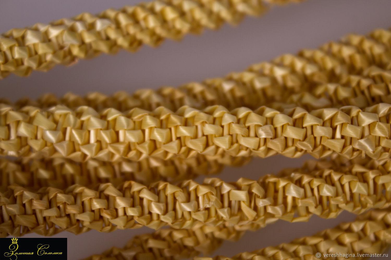 Straw voluminous plaits, Creator\\\\\\\'s Kit, Kirov,  Фото №1