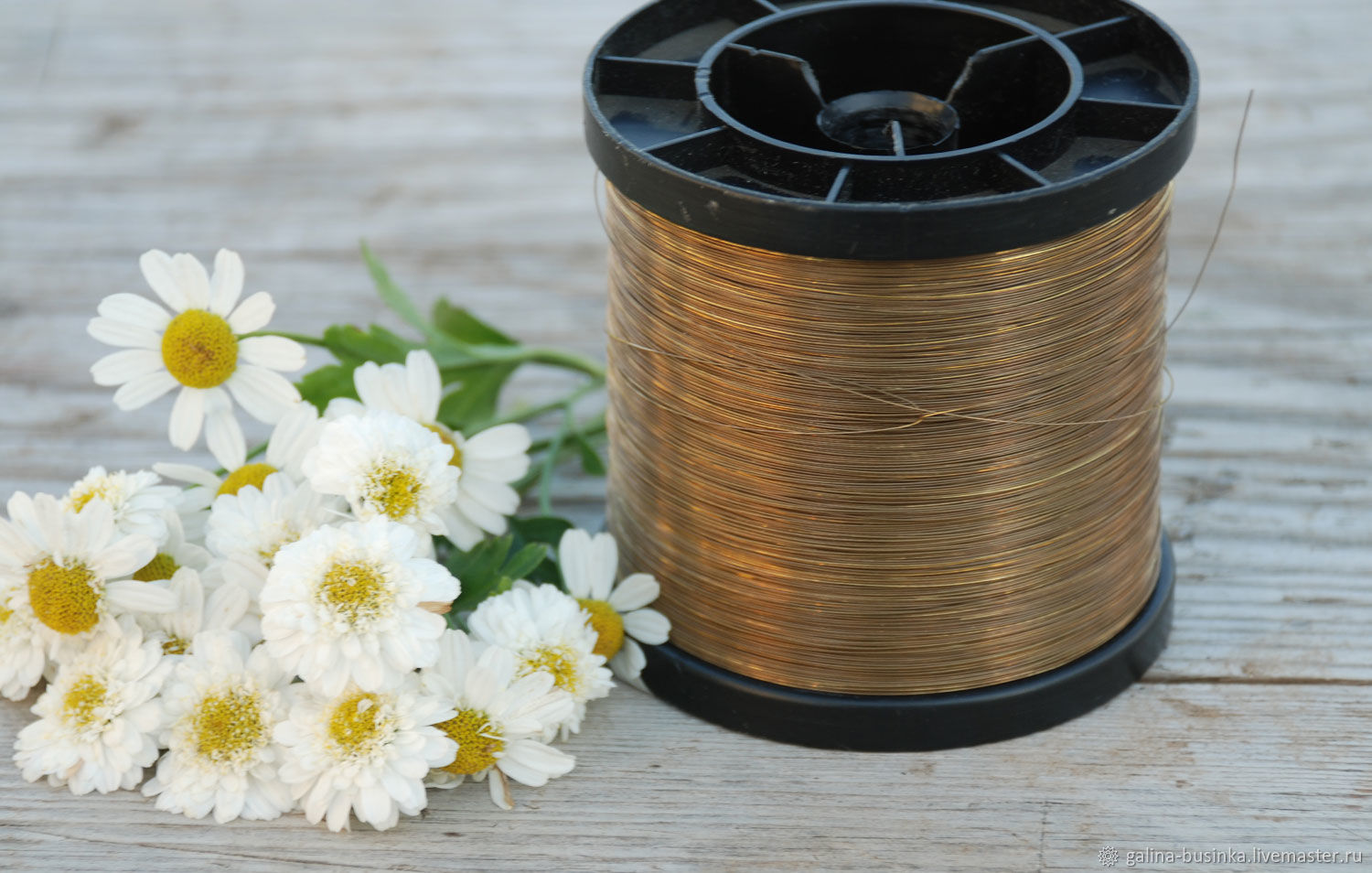 0,3 mm brass wire, Wire, Moscow,  Фото №1