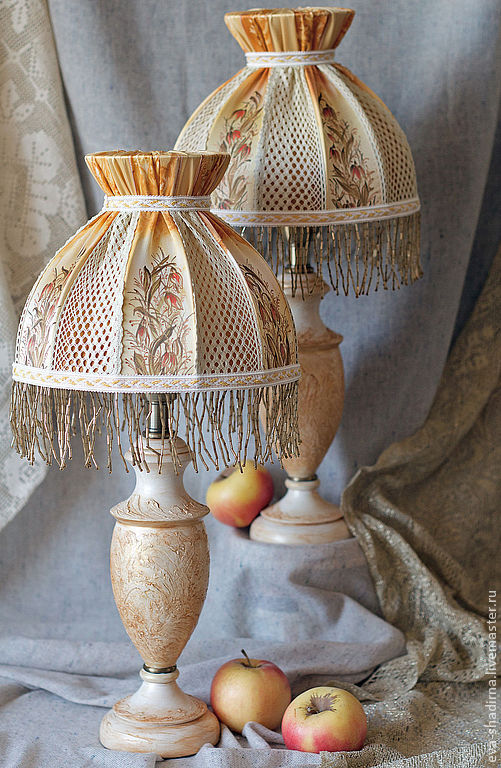 Купить настольная лампа абажур батик маковая росинка