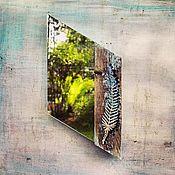 Для дома и интерьера ручной работы. Ярмарка Мастеров - ручная работа Зеркало Перо. Handmade.