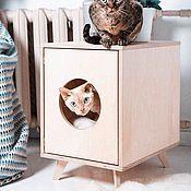Для домашних животных, ручной работы. Ярмарка Мастеров - ручная работа Дом для котика или собачки. Handmade.