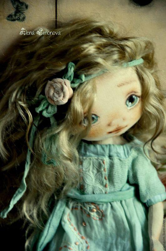 Коллекционные куклы ручной работы. Ярмарка Мастеров - ручная работа. Купить Иветта. Handmade. Мятный, подарок девушке, хендмейд, тонировка