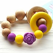 Куклы и игрушки handmade. Livemaster - original item Teething toy