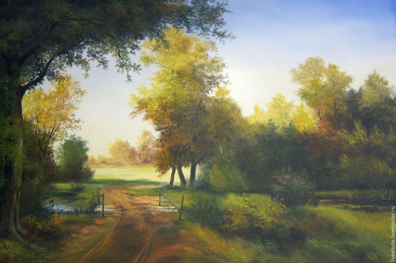 Маслом фото пейзаж