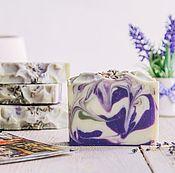 Косметика ручной работы. Ярмарка Мастеров - ручная работа Натуральное мыло Запах лаванды. Handmade.