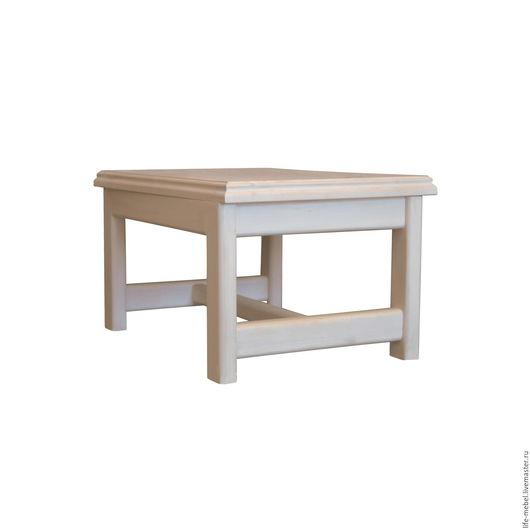 """Мебель ручной работы. Ярмарка Мастеров - ручная работа. Купить Столик """"Vilage"""". Handmade. Белый, стол, столик, массив дерева"""