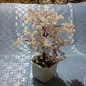 Подарки к праздникам ручной работы. Ярмарка Мастеров - ручная работа Дерево счастья из розового кварца. Handmade.