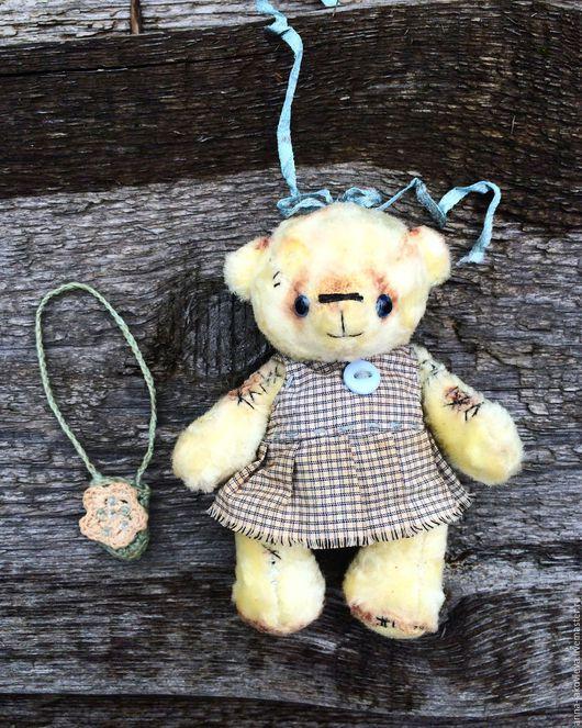 Мишки Тедди ручной работы. Ярмарка Мастеров - ручная работа. Купить Мишка Тедди Сонечка. Handmade. Голубой, тедди в одежде