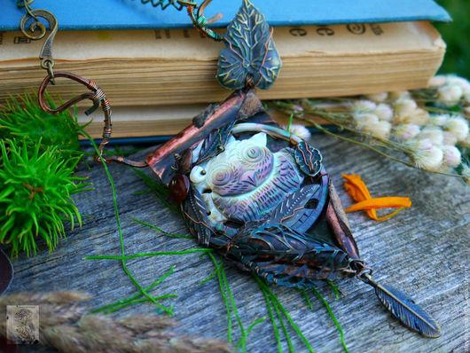 """Кулоны, подвески ручной работы. Ярмарка Мастеров - ручная работа. Купить Кулон """"Тихо в лесу"""" арт. 6059. Handmade."""