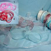 Материалы для творчества ручной работы. Ярмарка Мастеров - ручная работа лента шифоновая. Handmade.