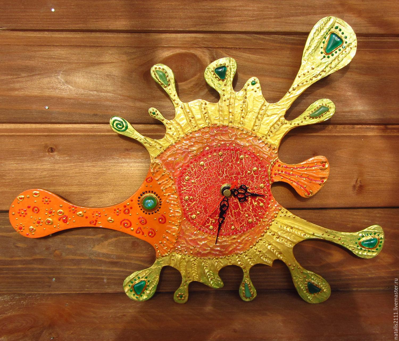 "Часы настенные ""Весёлая рыбка"", Часы для дома, Москва, Фото №1"