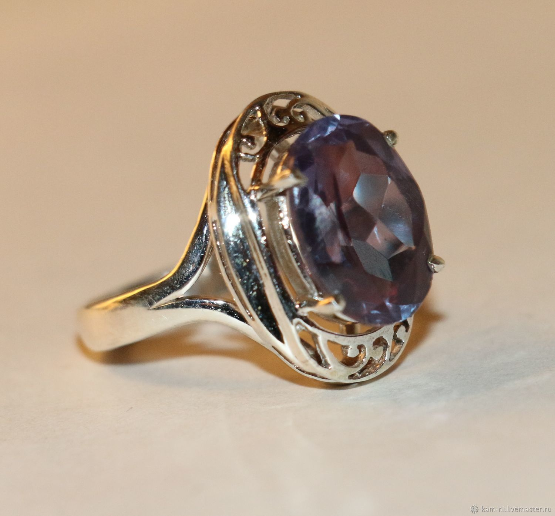 символов перстень с александритом женский фото времени так