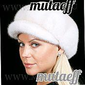 Аксессуары handmade. Livemaster - original item Women`s mink fur cap. Handmade.
