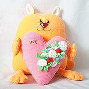 Куклы и игрушки handmade. Livemaster - original item I`ll give you a heart. Handmade.