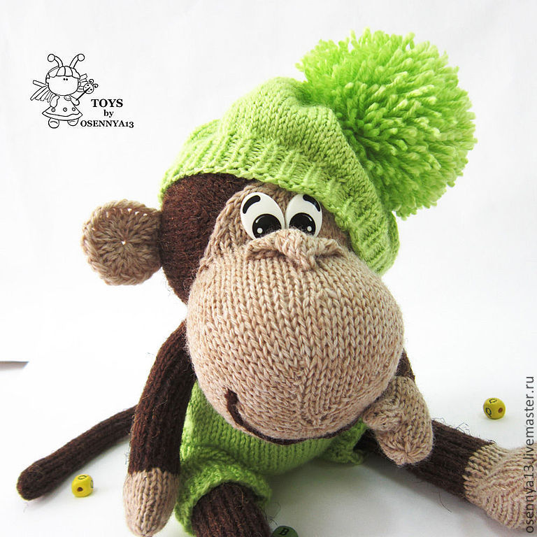 """МАСТЕР-КЛАСС   """"Озорная обезьянка"""", Инструменты для кукол и игрушек, Харьков,  Фото №1"""