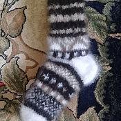 Носки ручной работы. Ярмарка Мастеров - ручная работа Носки из собачьей шерсти вязаные. Handmade.