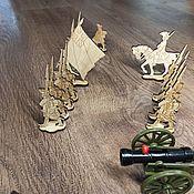 Куклы и игрушки handmade. Livemaster - original item Playsets: Battlefields of the 18th century. Handmade.