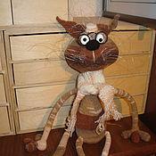 Куклы и игрушки ручной работы. Ярмарка Мастеров - ручная работа Кот Остап.. Handmade.