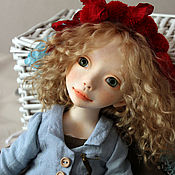Куклы и пупсы ручной работы. Ярмарка Мастеров - ручная работа Le petit Chaperon rouge!. Handmade.