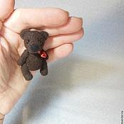 Куклы и игрушки ручной работы. Ярмарка Мастеров - ручная работа Мишутка 5см. Handmade.